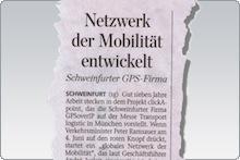 Netzwerk der Mobilität entwickelt