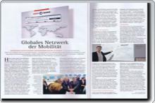 Globales Netzwerk der Mobilität
